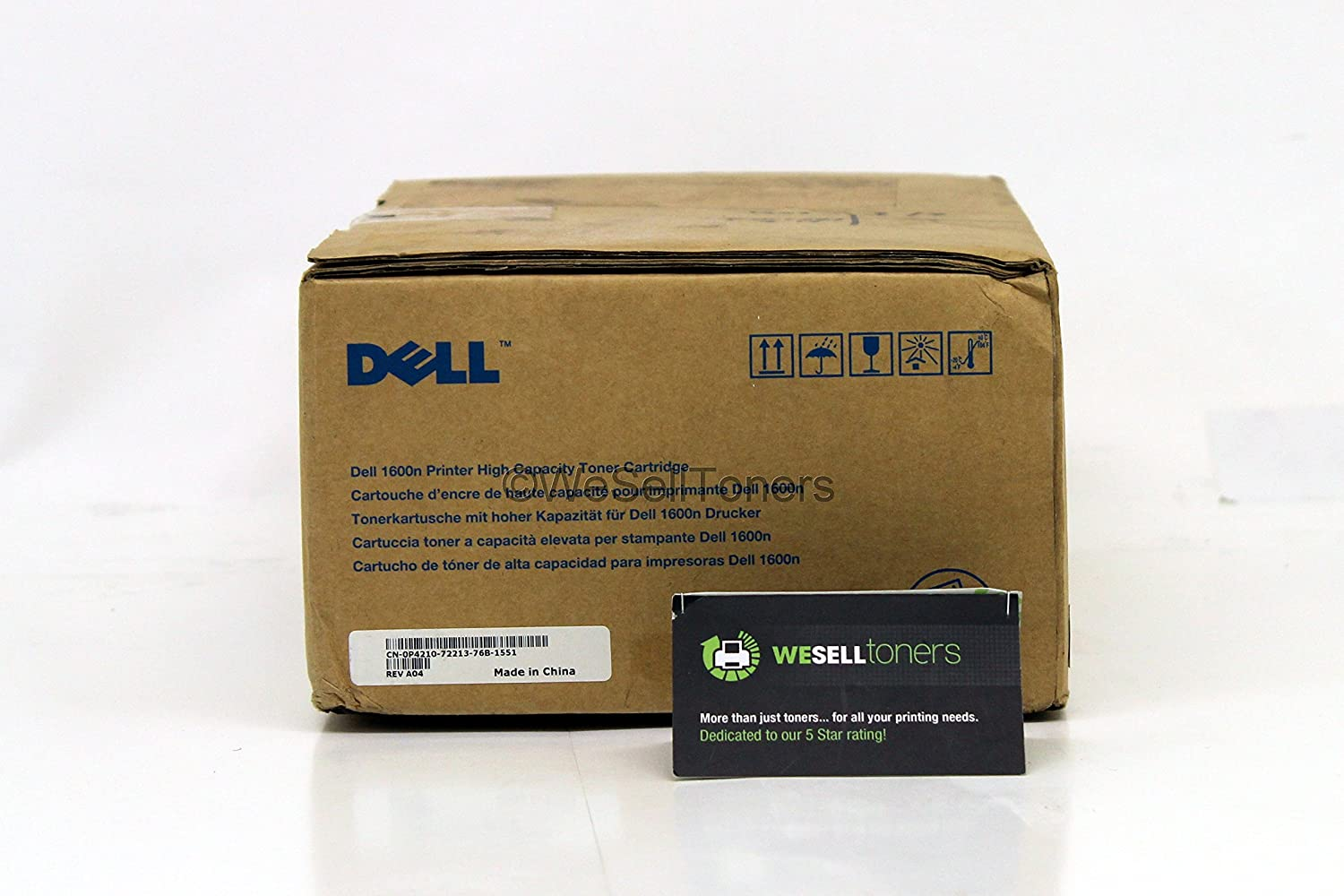 dell printer accessories p4210 dell 1600n 5k black toner cartridge 310-5417