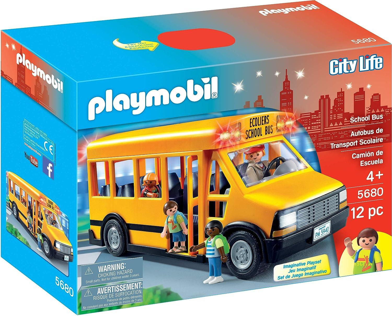 Playmobil 5680 Bus Scolaire Jaune école