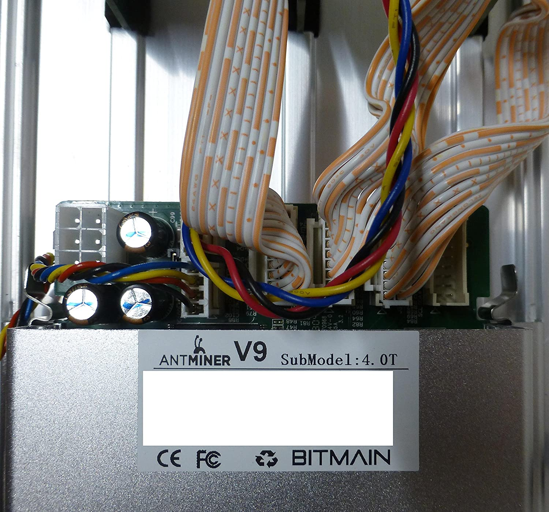 AntMiner V9~4TH/s @ 0 253W/GH Bitcoin/Bitcoin Cash ASIC Miner (V9)