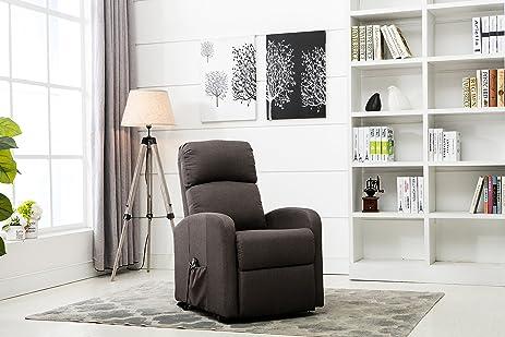 Amazon.com: Divano Roma Furniture - Classic Plush Power Lift ...