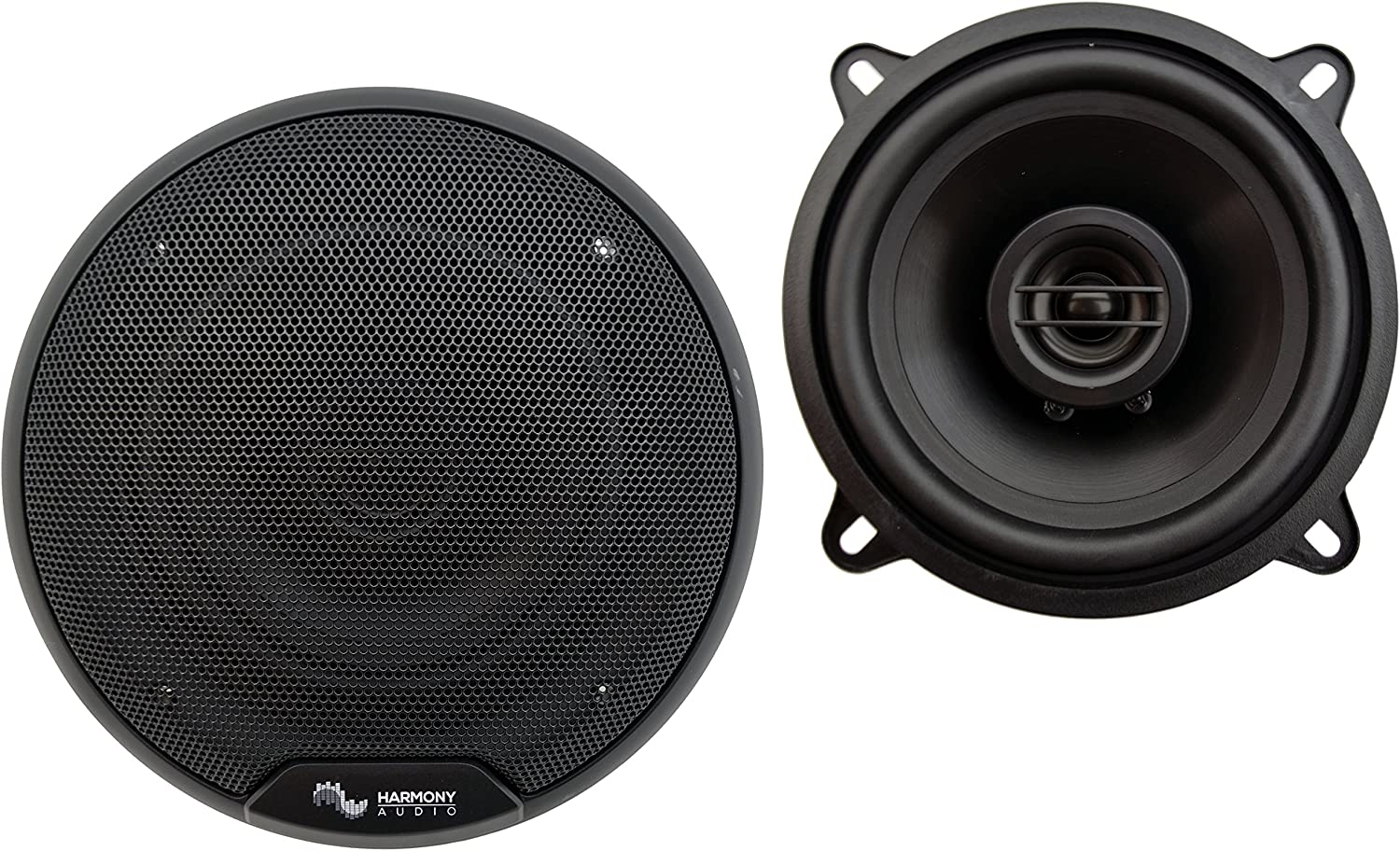 Compatible with Chrysler Lebaron 1984-1995 Front Door Factory Replacement Speakers Harmony HA-R5 New