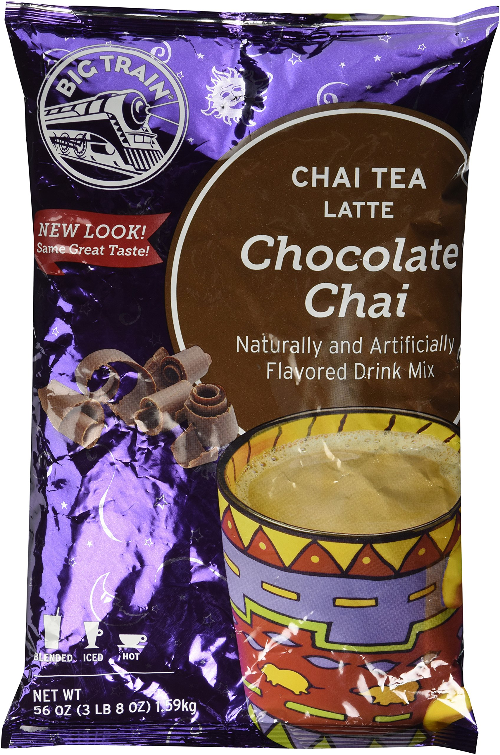 Big Train Chai Tea Chocolate 3.5 lb bulk by Big Traine