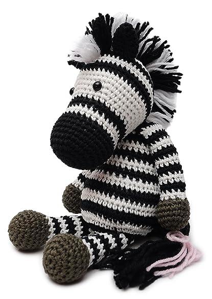 Amazon daoofthao zebra animal handmade amigurumi stuffed toy daoofthao zebra animal handmade amigurumi stuffed toy knit crochet doll vac dt1010fo