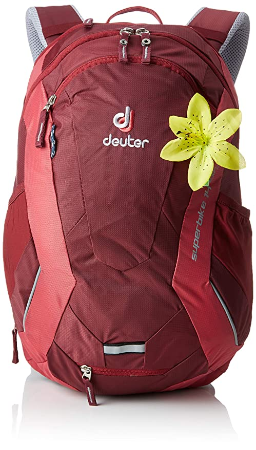 25ddfea97 Deuter Superbike 14 EXP SL Casual Daypack 46 Centimeters 18 Red  (Maron-Cardinal): Amazon.co.uk: Luggage