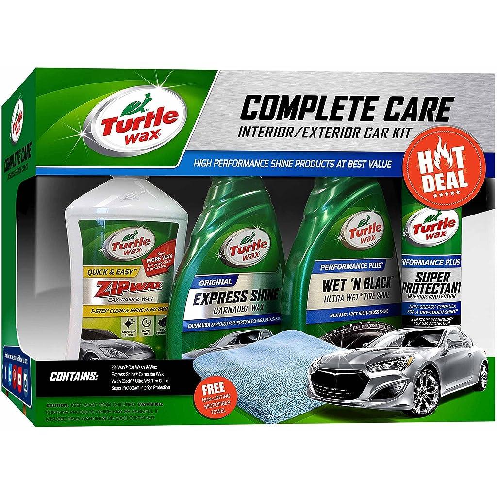 Turtle Wax 5-Piece Complete Care Kit