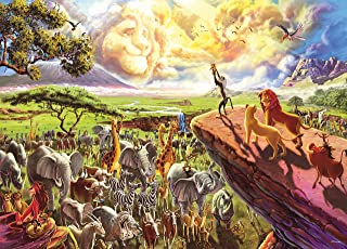 product image for Ceaco Disney The Lion King Jigsaw Puzzle, 1000 Pieces
