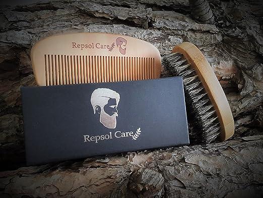 rapid beard com brush set