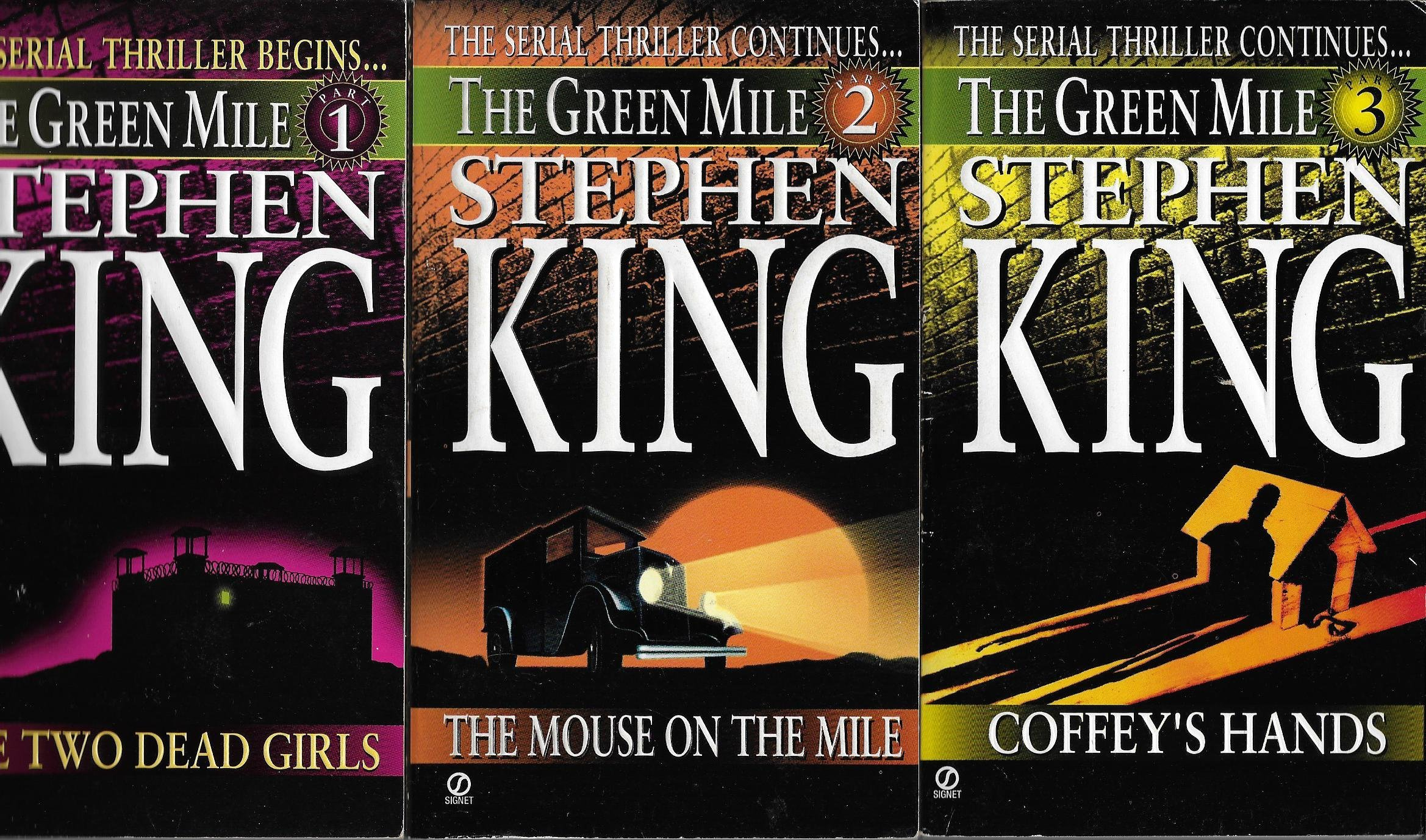the green mile serial novel set books stephen king  the green mile serial novel set books 1 6 stephen king com books