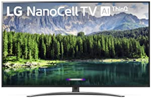 "LG 75SM8670PUA Nano 8 Series 75"" 4K Ultra HD Smart LED NanoCell TV (2019)"