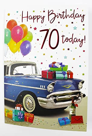 Happy Birthday Greeting Card For Him Mens Male Quality Age Milestone Verse Office Products Jpg 304x450