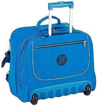Kipling CLAS Dallin Mochila con Ruedas, 42 cm, Blue Green Mix (Azul): Amazon.es: Equipaje