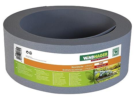 WINDHAGER Strong 06816 - Borde para césped (Polipropileno, 10 x 12 ...