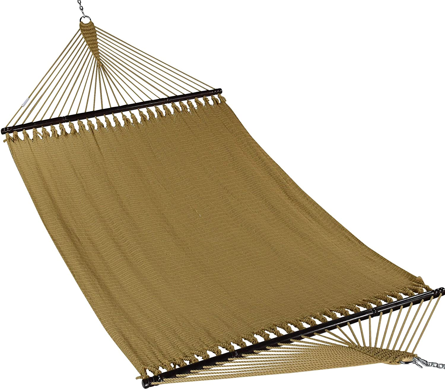 "Caribbean Hammocks 55"" Wide Jumbo Caribbean Hammock - Tan - 600 lb Weight Capacity"
