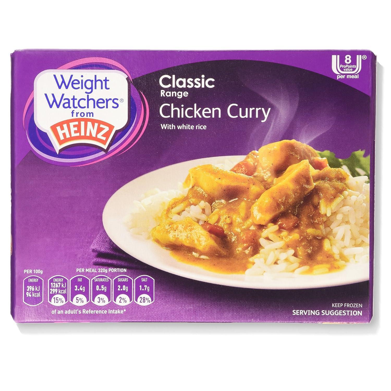Weight Watchers From Heinz Chicken Curry 320g Frozen