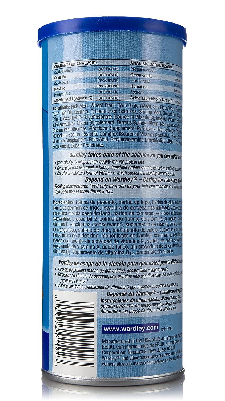 Amazon.com : Wardley Tropical Fish Food Flakes - 3oz : Pet Food : Pet Supplies