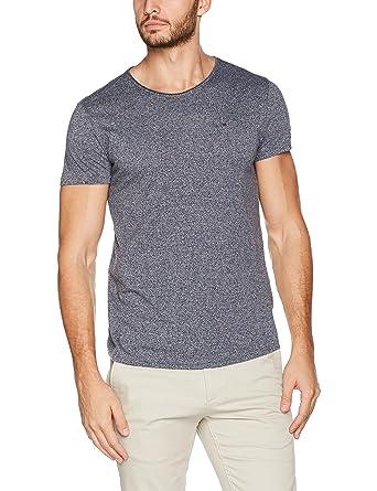 b7456f950f395 Tommy Jeans Hombre Basic Knit Camiseta Manga Corta  Amazon.es  Ropa y  accesorios