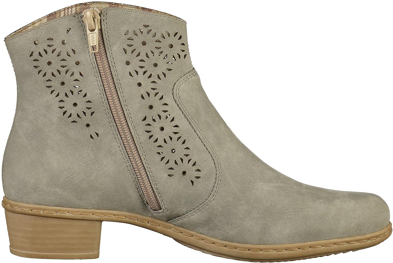 Rieker Damen Y0735 Kurzschaft Stiefel  Amazon.de  Schuhe   Handtaschen 60e4c36655