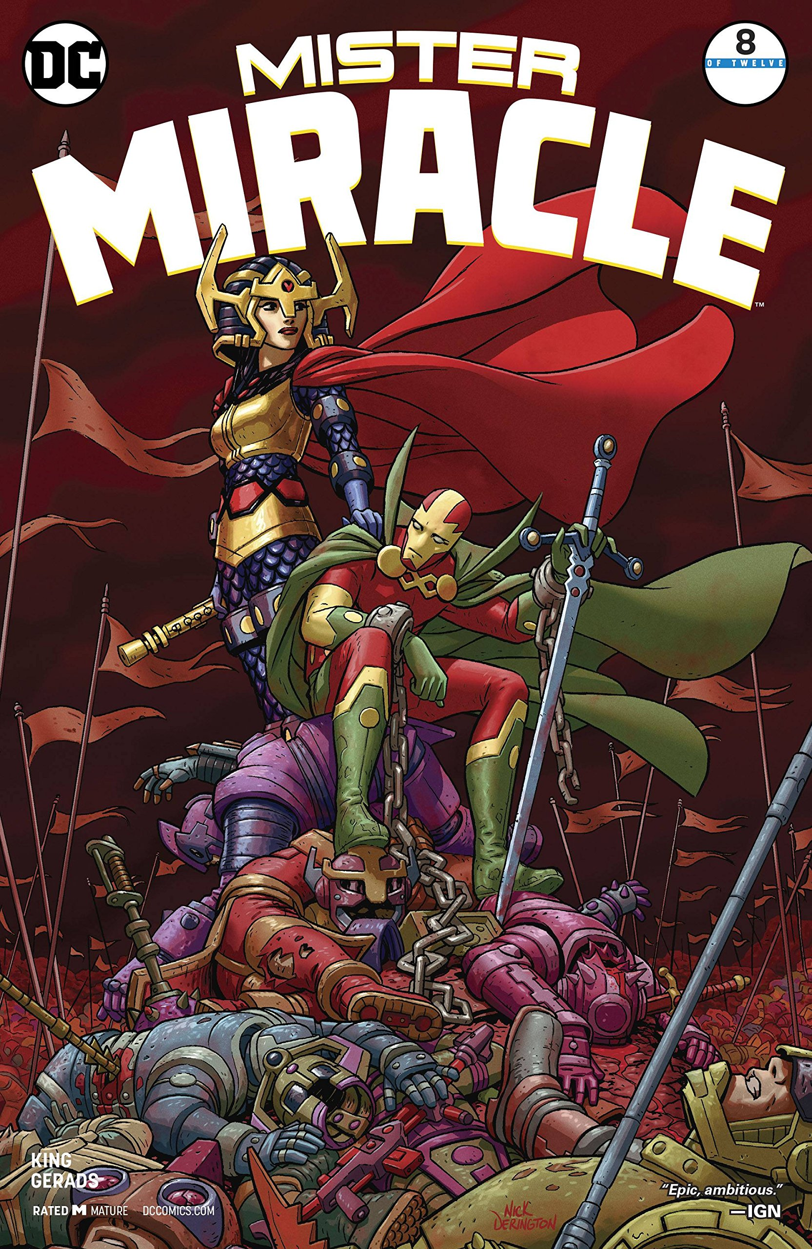 Download MISTER MIRACLE #8 (OF 12) (MR) RELEASE DATE 4/18/2018 pdf