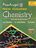 Pradeep's A Text Book of Chemistry with Value Based Questions - Class XI (Set of 2 Volumes)