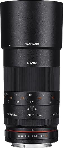 عدسة ماكرو بعدسة تقريبية ذات إطار كامل F2.8 ED UMC لكاميرات كانون EF الرقمية SLR من Samyang