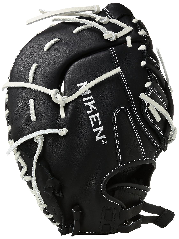 Miken KOシリーズSlowpitch Throw First Baseman 'sフィールディンググローブ B00TAAL5E613-Inch
