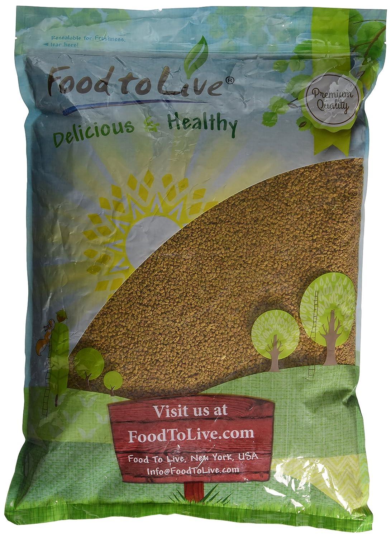 Fenugreek Seeds by Food to Live (Methi, Kosher, Bulk) — 8 Ounces Bulk) — 8 Ounces