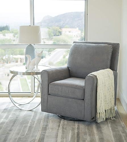 Abbyson Living Fabric Upholstered Gliding Nursery Chair