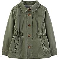 Simple Joys by Carter's Twill Button up Jacket Bebé-Niñas
