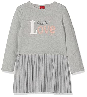 s.Oliver Baby Girls  65.808.82.2846 Dress, Grau (Light Grey Melange fc2fb8bbf6
