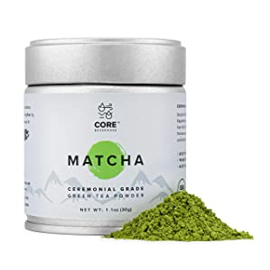 Organic Matcha Green Tea Powder 30 g (1.1 oz) | Ceremonial Grade Matcha |Premium First Harvest Japanese Origin| USDA and JONA Organic | Energy and Metabolism Booster