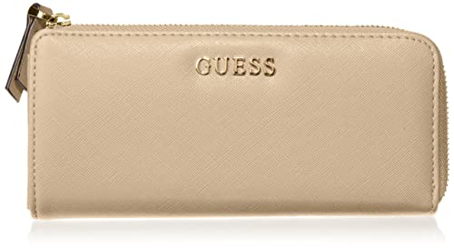 Guess - Monedero para mujer, color beige (TAU), 20 cm ...