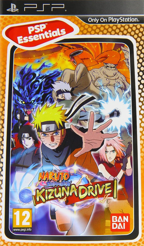 Naruto Shippuden : Kizuna Drive PSP Essentials (Sony PSP ...