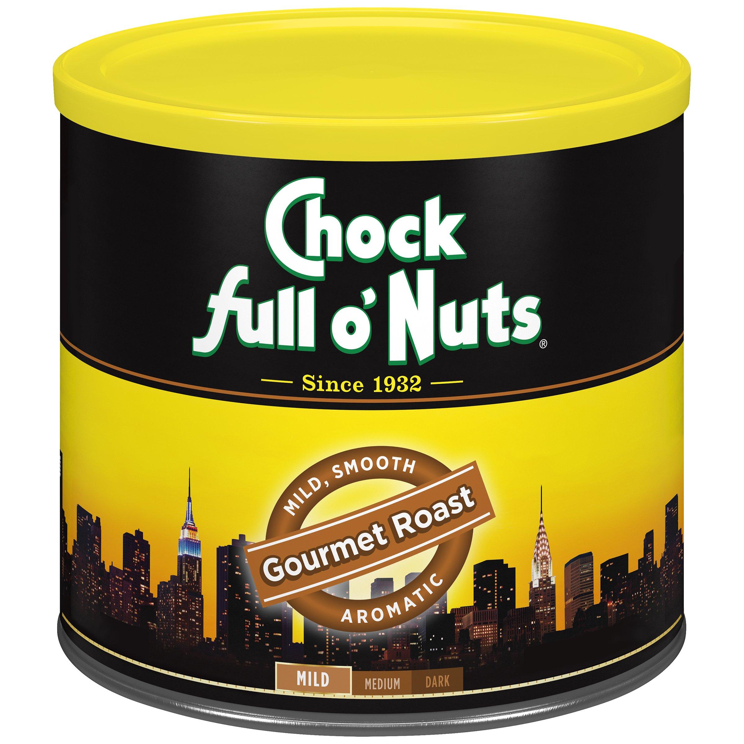 Chock Full o'Nuts Coffee, Gourmet Roast Ground, 26 Ounce