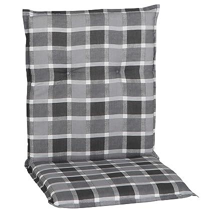 4 Auflagen für Niederlehner Sessel Niedriglehner Stuhlauflagen Sitzkissen Kissen