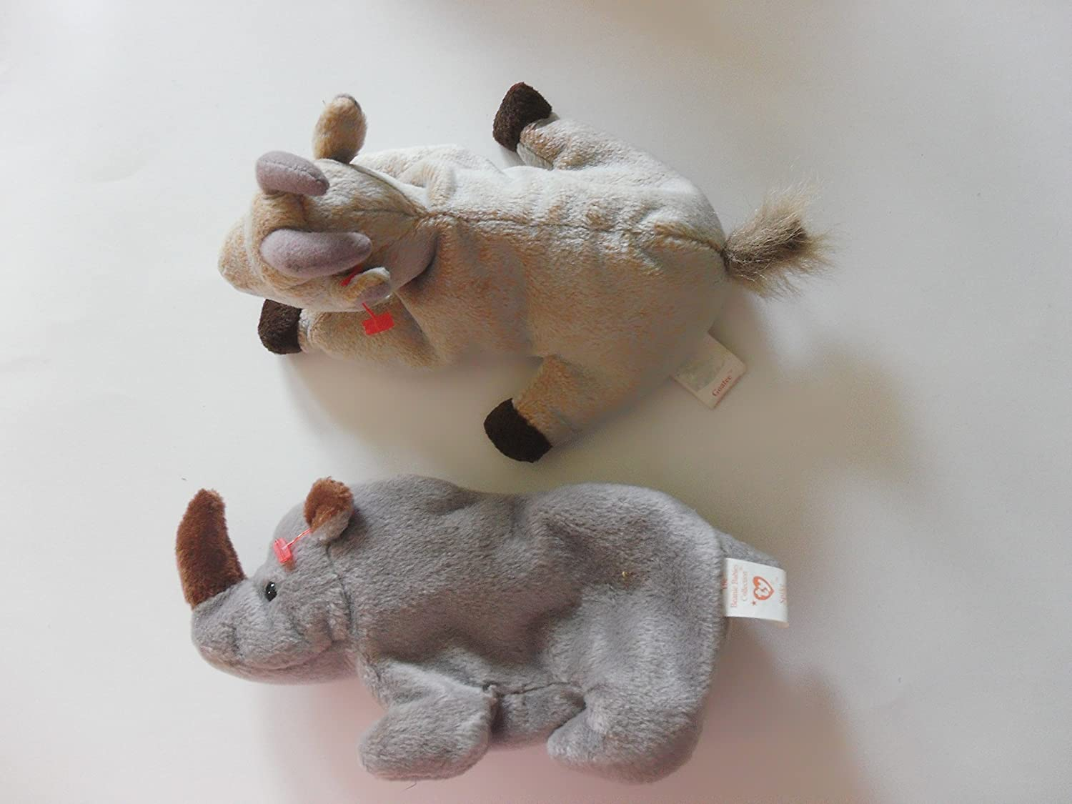 Amazon.com   TY Beanie Baby   GOATEE the Goat and Spike the Rhinoceros    Everything Else 2c941d12bb3