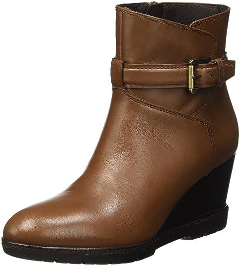 Geox D JILSON C, Botines para Mujer, Beige (DK CAMELCD500), 41 EU: Amazon.es: Zapatos y complementos