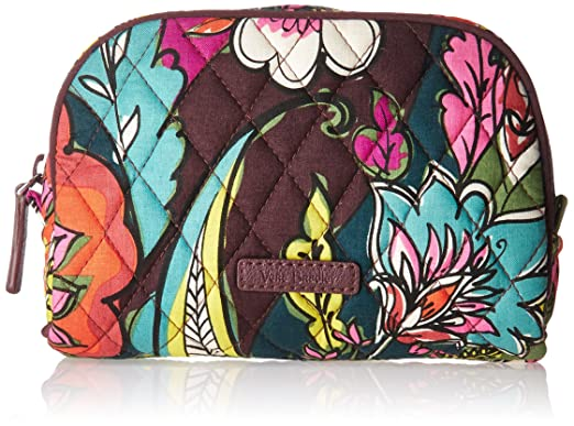 73d4ea1b39b0 Amazon.com  Vera Bradley Small Zip Cosmetic
