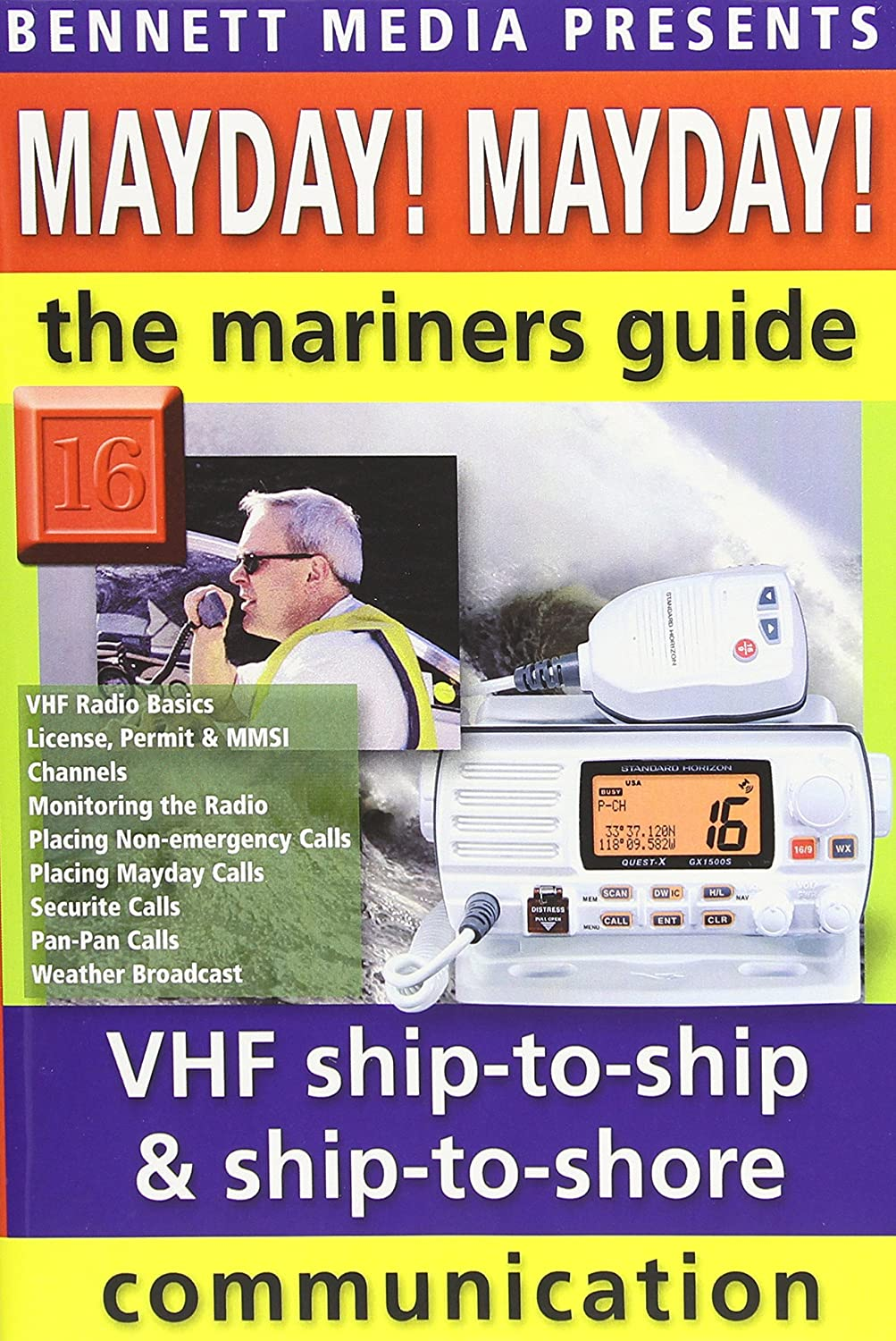 amazon com mayday mayday mariner s guide to vhf ship to ship and rh amazon com Marine Radio Communications Marine Electrician