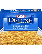 Kraft Deluxe Original Cheddar Macaroni & Cheese Dinner, 400G
