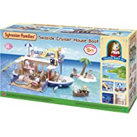 Sylvanian Families Seaside Cruiser Houseboat,Playset
