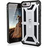 UAG iPhone 7 Plus / iPhone 6s Plus [5.5-inch screen] Monarch Feather-Light Rugged [PLATINUM] Military Drop Tested iPhone Case