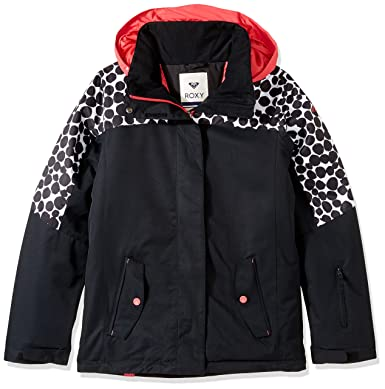 196a7883a3 Amazon.com  Roxy Big Jetty Girl Colorblock Snow Jacket  Clothing