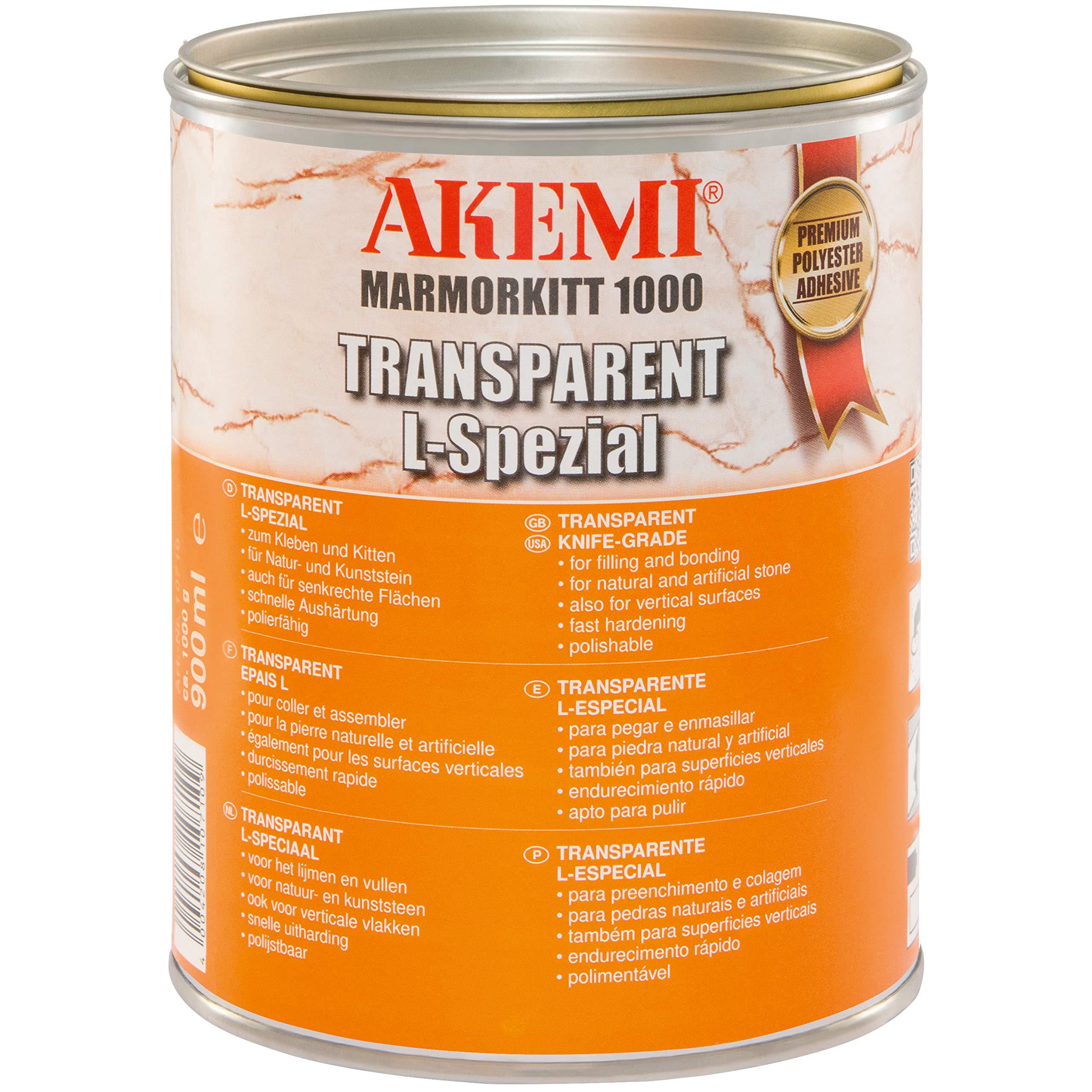 Akemi Marmorkitt 1000 Transparent Knifegrade Epoxy by Transparent L-Spezial