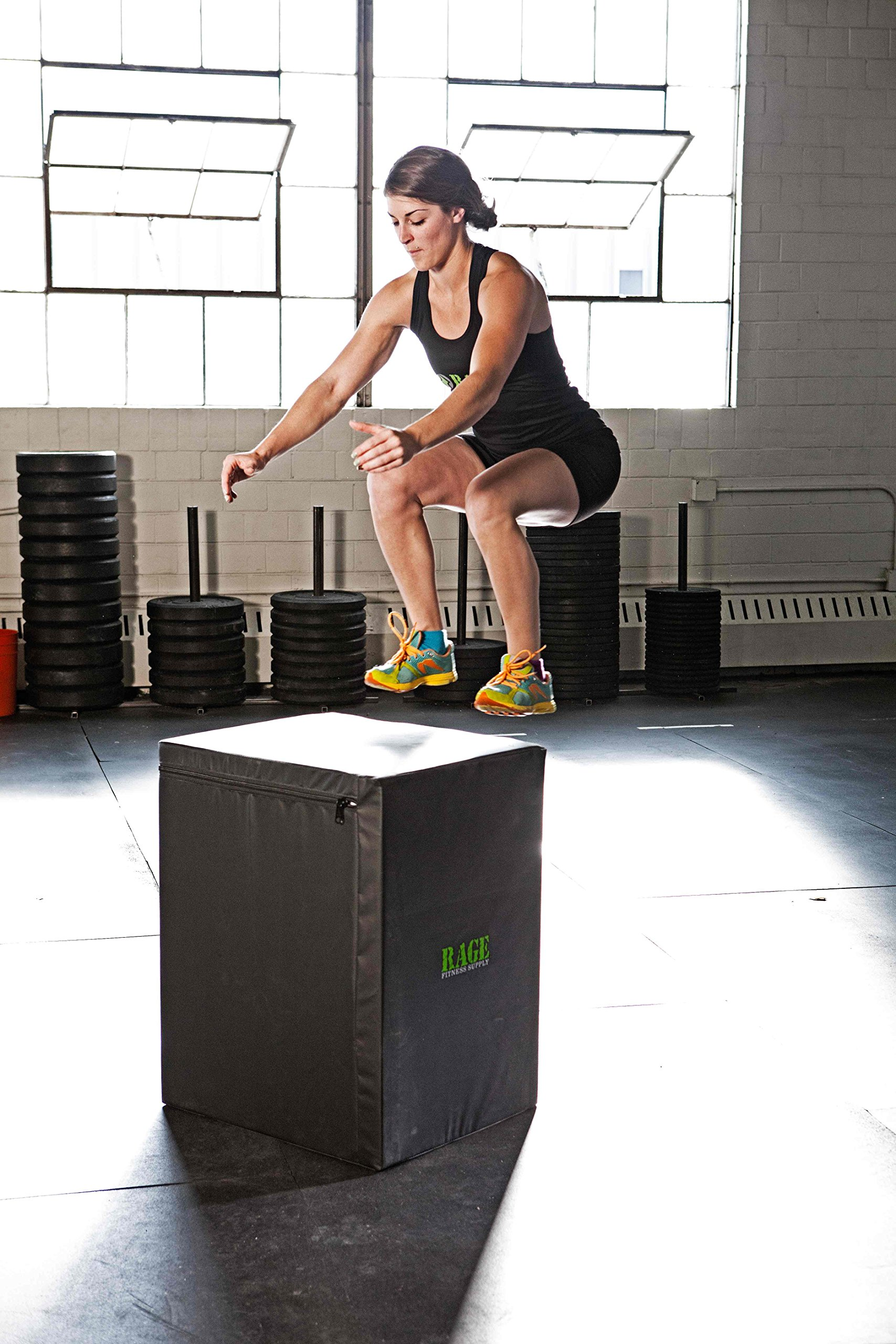 Rage Fitness 3 in 1 Soft Cube Plyometric Jump Box