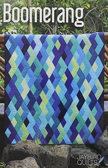 Amazon.com: Jaybird Quilts JBQ154 Boomerang Pattern : jaybird quilt - Adamdwight.com