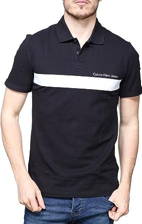 Calvin Klein Pertolis 2 Slim - Polo para Hombre, Color Negro (XXL ...