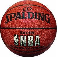 Spalding - 74523Z Silver Nba Balon Para Basquetbol N°.7 Piel Sintetica+D7