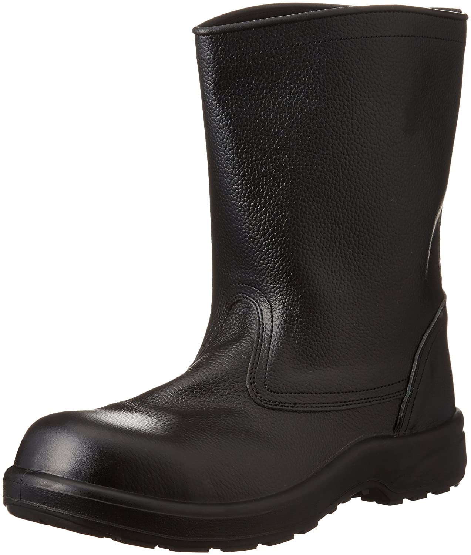 [エンゼル] 樹脂先芯ウレタン2層半長靴 AZ311 AZ 6B019 B007N13754 24.5 cm|ブラック ブラック 24.5 cm