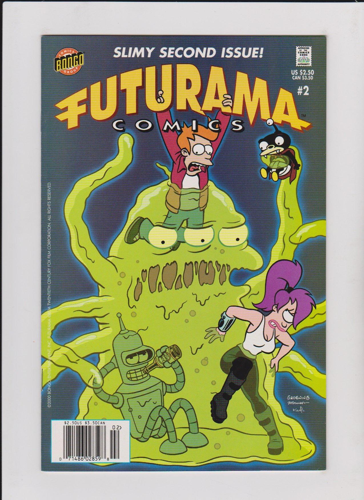 FUTURAMA COMICS #2: Amazon.es: Groening, Matt: Libros