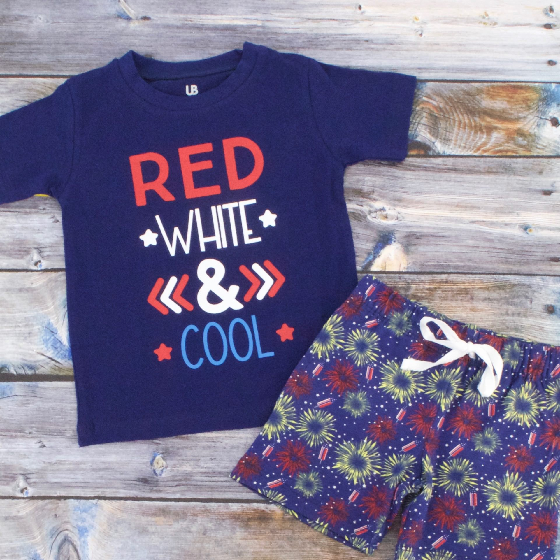 Unique Baby Boys Red, White & Cool 2 Piece 4th of July Outfit (5) by Unique Baby (Image #4)